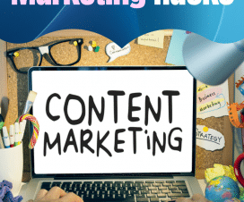Content Marketing hacks Image Graphic
