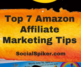 Amazon Affiliate Marketing Tips Graphic